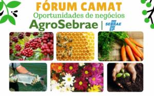 AgroSebrae - Fórum CAMAT: Oportunidades de negócios @ CAMAT  | São Paulo | Brasil