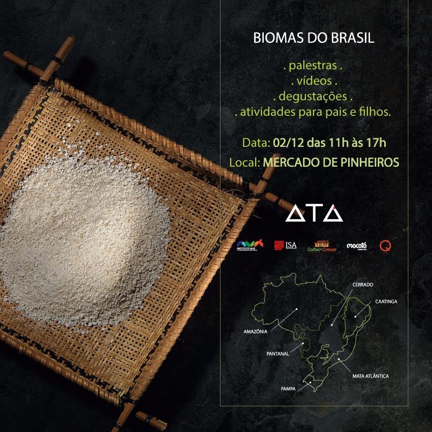 Biomas do Brasil @ Mercado Municipal de Pinheiros | São Paulo | Brasil